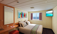 Carnival Elation Oceanview Stateroom