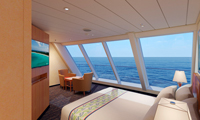 Carnival Paradise Oceanview Stateroom
