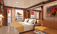Carnival Fantasy Suite Stateroom