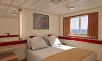 Carnival Fantasy Oceanview Stateroom
