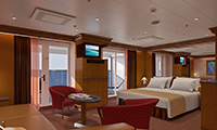 Carnival Miracle Suite Stateroom