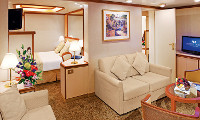 Star Princess Suite Stateroom