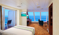 Carnival Paradise Suite Stateroom