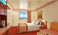 Carnival Triumph Oceanview Stateroom