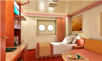 Carnival Liberty Inside Stateroom