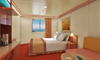 Carnival Liberty Oceanview Stateroom