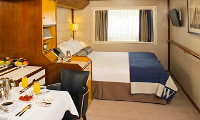 Wind Spirit Oceanview Stateroom