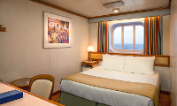 Crown Princess Oceanview Stateroom