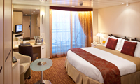 Celebrity Reflection Oceanview Stateroom