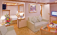 Emerald Princess Suite Stateroom