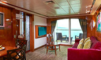 Norwegian Gem Suite Stateroom