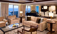 Celebrity Summit Suite Stateroom