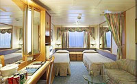 Enchantment Of The Seas Oceanview Stateroom