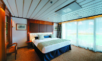 M S Paul Gauguin Suite Stateroom
