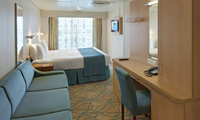 Rhapsody Of The Seas Oceanview Stateroom
