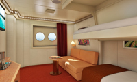 Carnival Dream Inside Stateroom