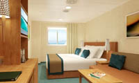 Carnival Breeze Oceanview Stateroom