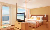 Carnival Breeze Suite Stateroom