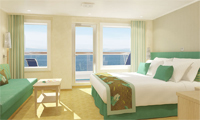 Carnival Breeze Suite Stateroom