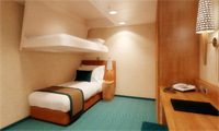 Carnival Breeze Inside Stateroom
