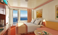 Carnival Conquest Balcony Stateroom