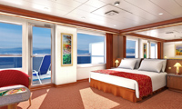 Carnival Conquest Suite Stateroom