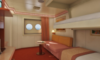 Carnival Conquest Inside Stateroom