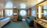 Independence Of The Seas Oceanview Stateroom