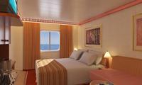 Carnival Legend Oceanview Stateroom