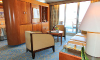 Sea Princess Suite Stateroom