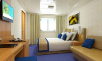 Carnival Sunshine Oceanview Stateroom