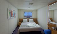 Carnival Sunshine Inside Stateroom