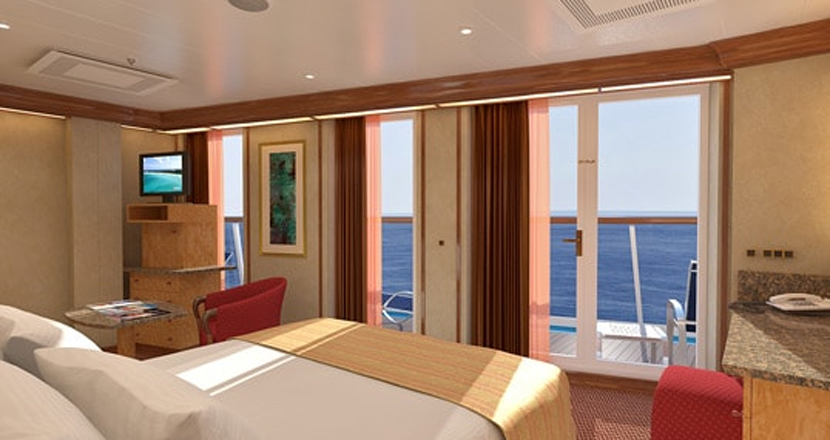 Carnival Spirit Suite Stateroom