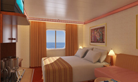 Carnival Spirit Oceanview Stateroom